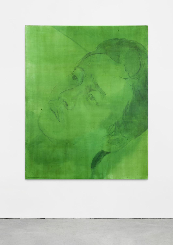 Brook Hsu 'Hsiao - kang', 2021, ink on canvas, 200 x 160 cm. Photo: Stephen Faught, Courtesy the artist; Kraupa - Tuskany Zeidler, Berlin