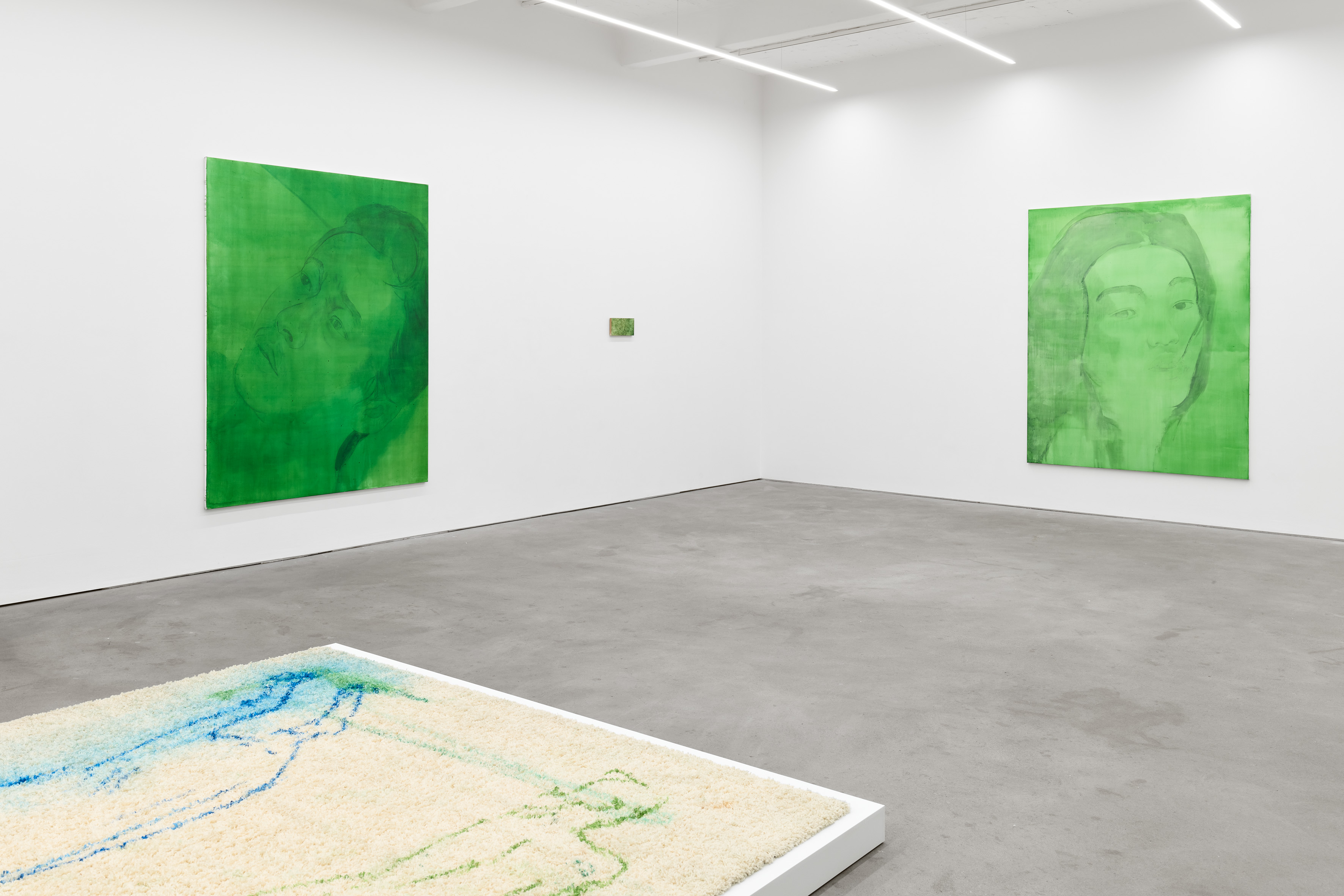 Installation view, 'Fictions' at Kraupa - Tuskany Zeidler. Photo: Stephen Faught, Courtesy the artist; Kraupa - Tuskany Zeidler, Berlin