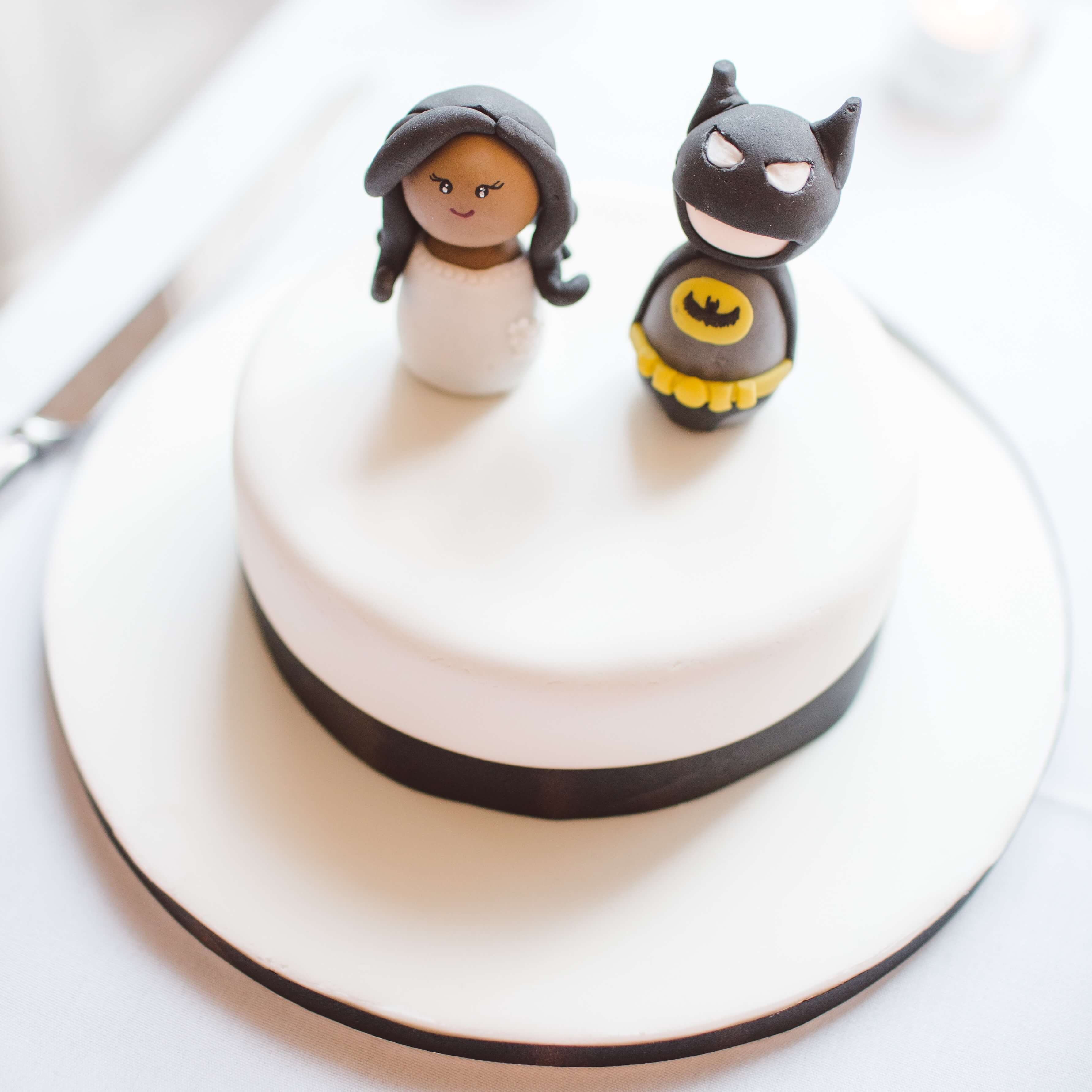 Batman and wife wedding toppers