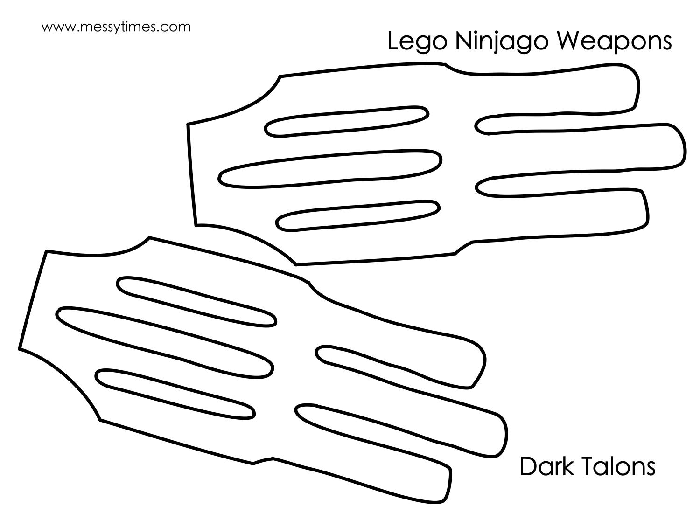 Lego Ninjago Weapon - Dark Talons