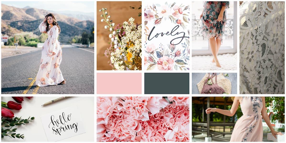 Spring Fashion Mood Board