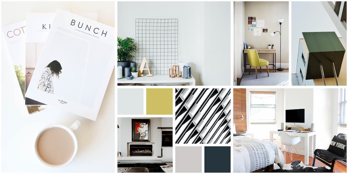 Contemporary Mood boards