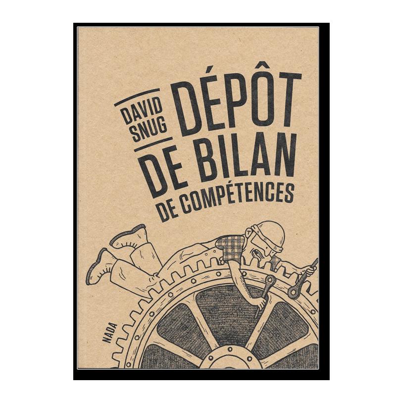 Bande dessinée, témoignage et pamphlet à l'encontre du salariat. Neuf, éditions Nada.