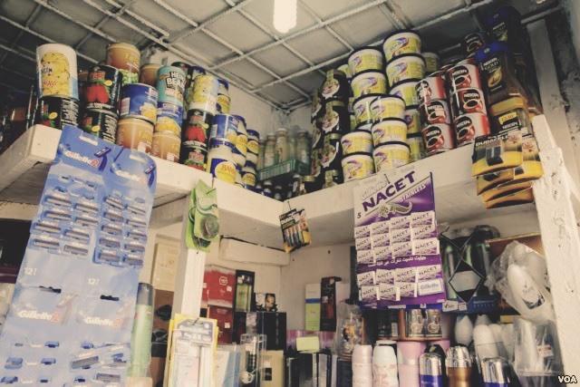 Local retail store in Lagos