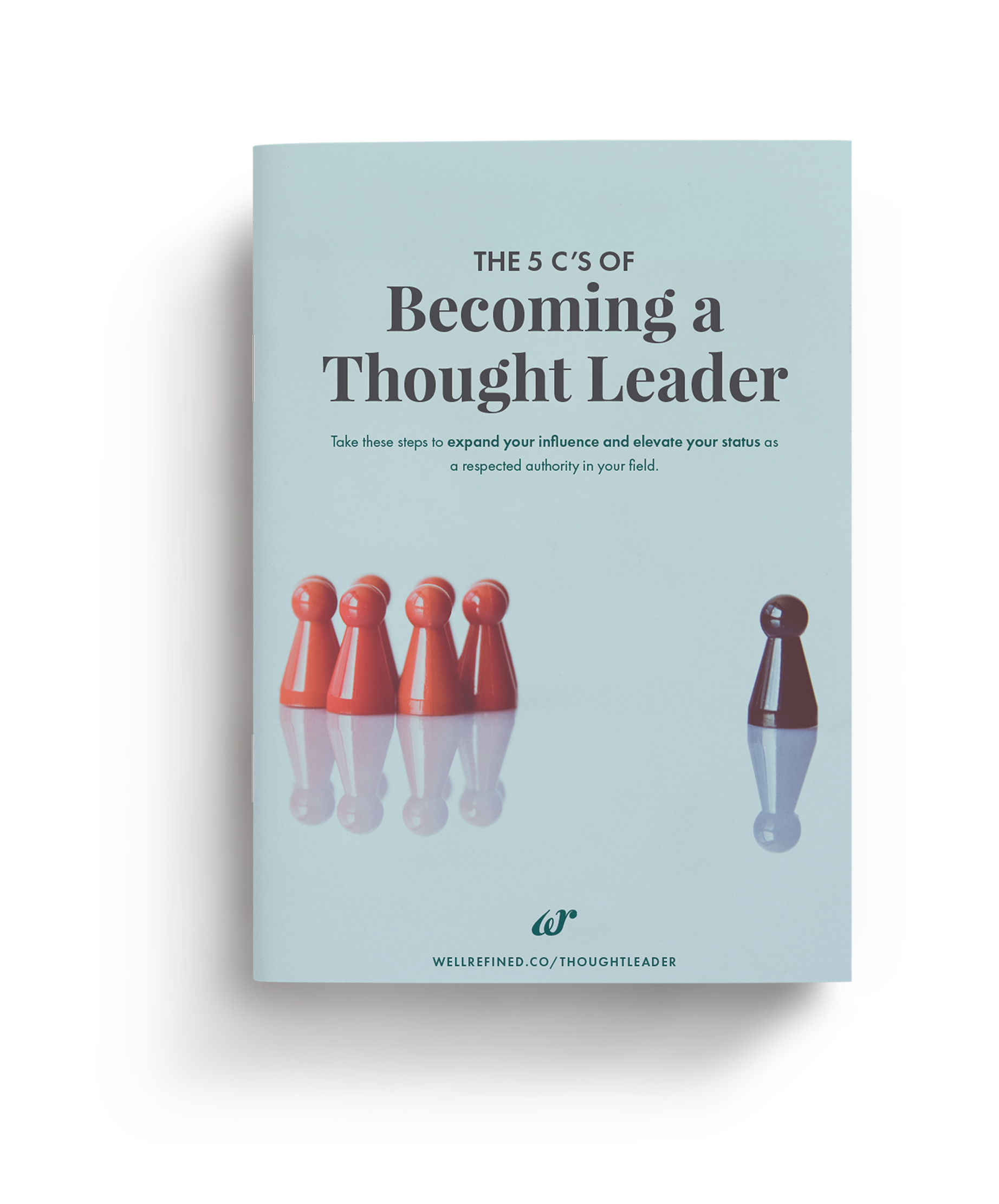 Thought leadership mockup