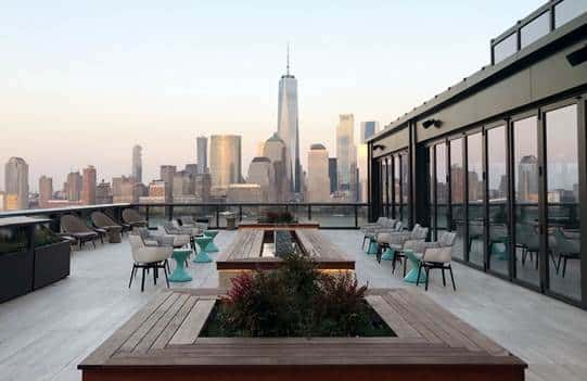 Downtown Jersey City Gets a Swanky Rooftop
