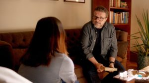Bel Powley and Nathan Lane (Courtesy of Carrie Pilby Productions)
