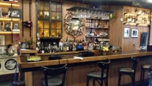 Yes, Virginia, there IS a bar at the Antique Bakery