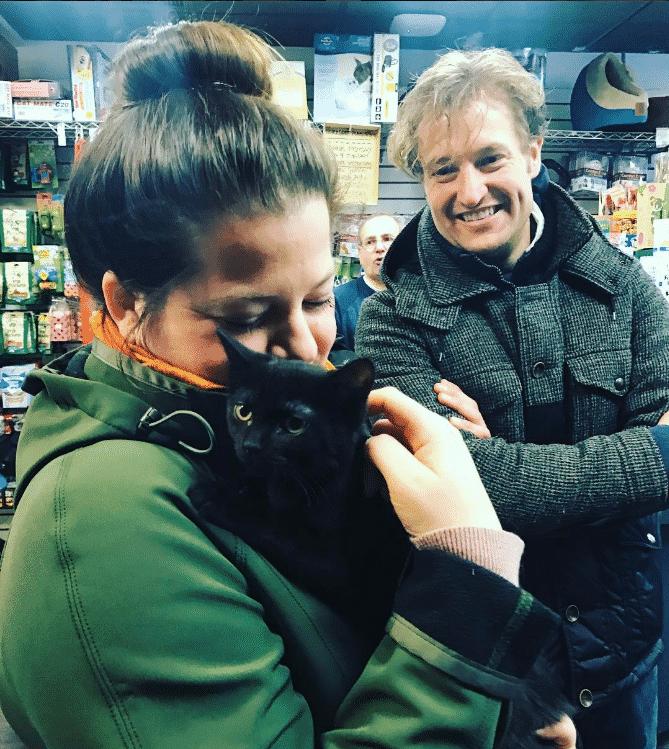 Recent adoption day at Hoboken Pet