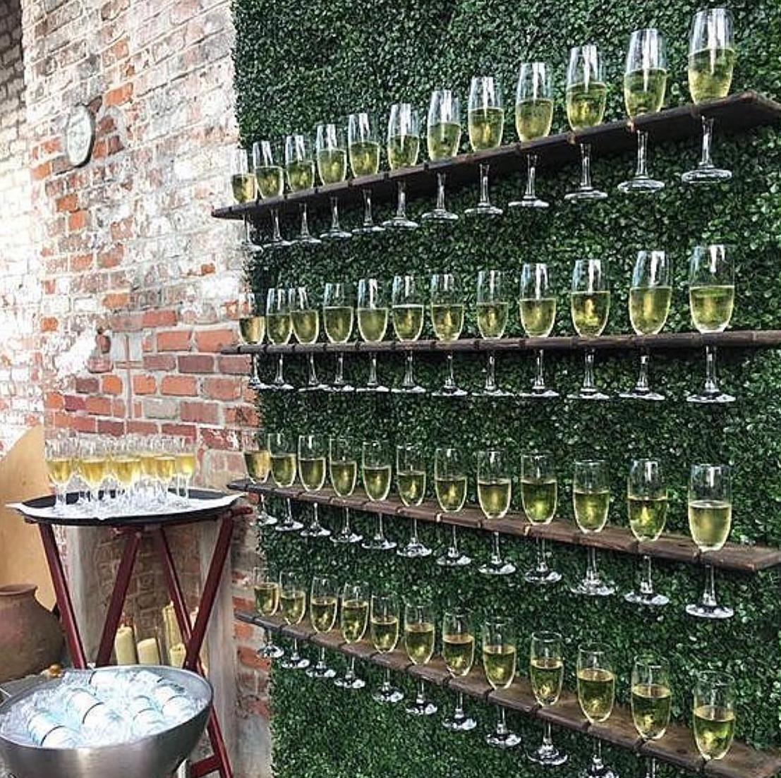 champagne walls rentals