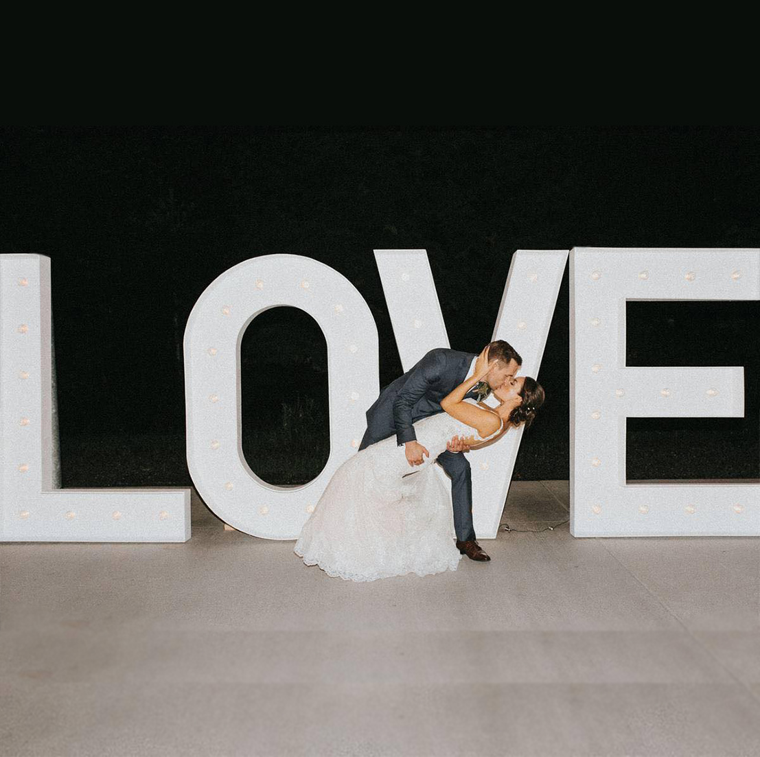 3d marquee letters rental