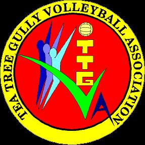 Tea Tree Gully Volleyball Association Logo