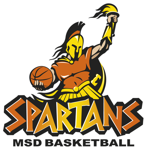 MSD Spartans Basketball logo