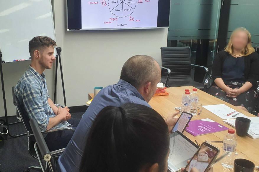 Attending first VTA workshop