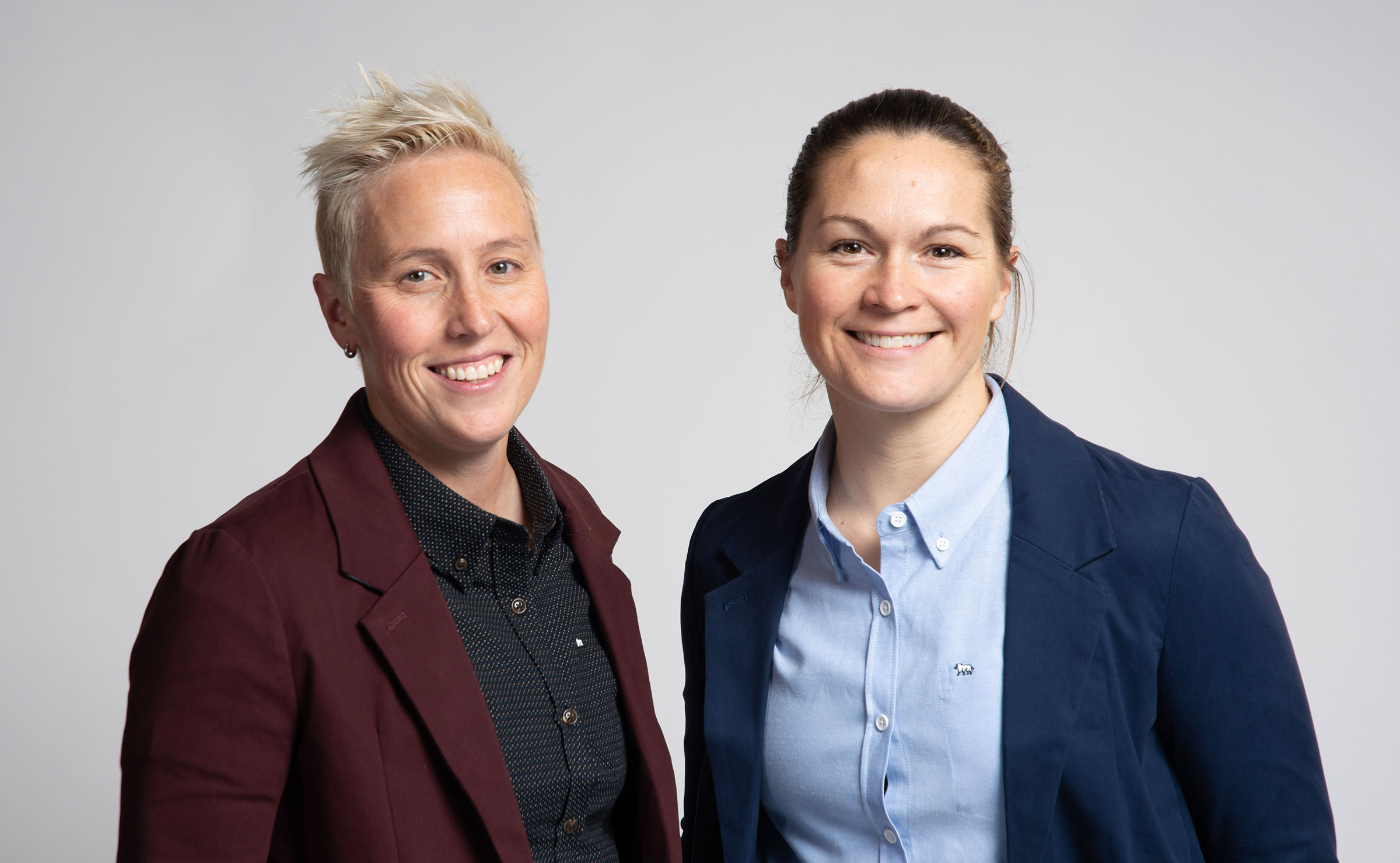 Rachel and Erin, the co-founders of the mindful project
