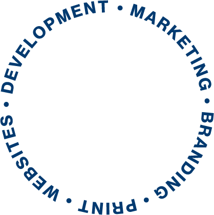 Serve slogan. It reads: websites, branding, print, development, and marketing.