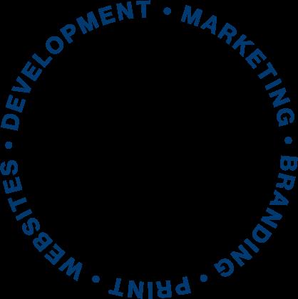 Serve slogan. It reads: websites, branding, print, development, and marketing.