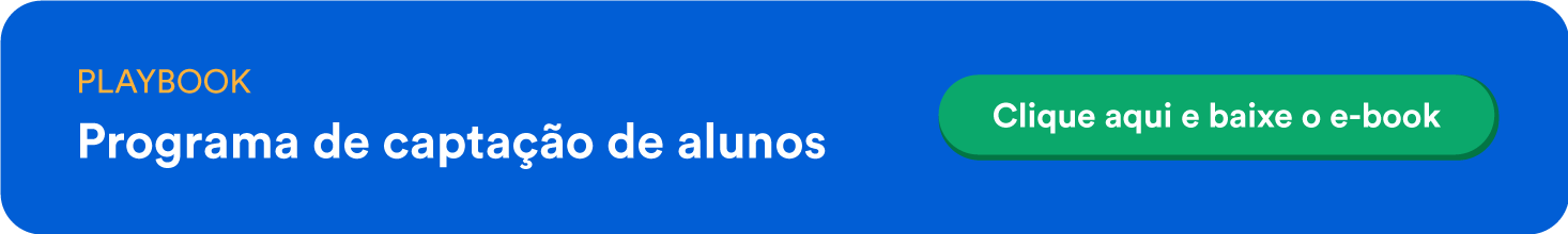 banner - Playbook: programa de captação de alunos