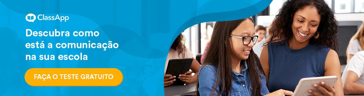 Banner: Descubra como está a comunicação na sua escola