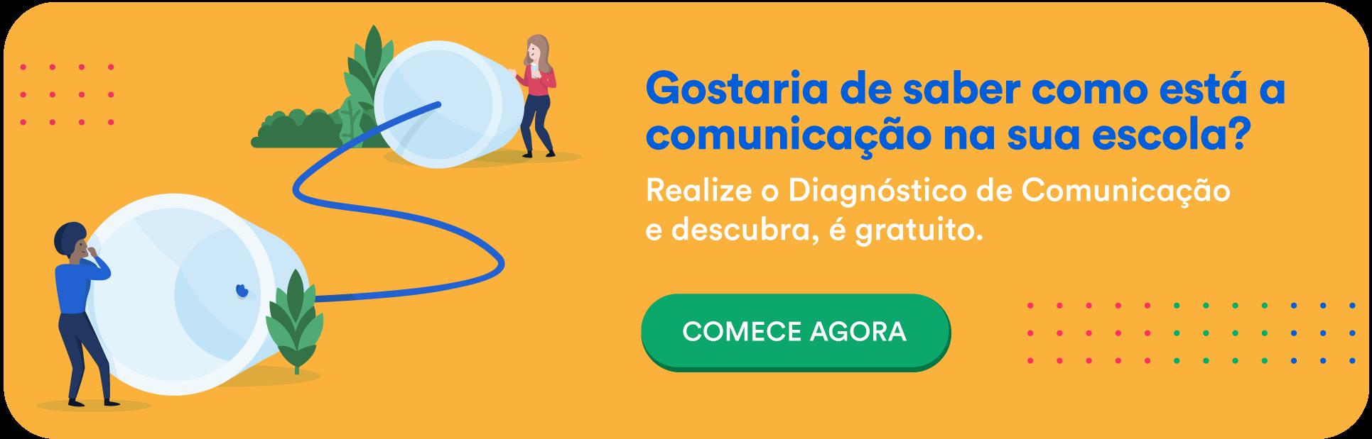 Reunião de Pais online - diagnóstico de Comunicação