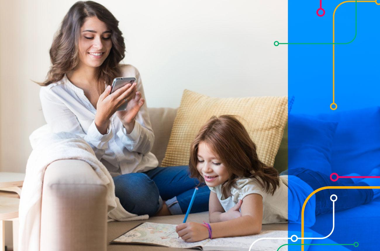 Comunicação com famílias