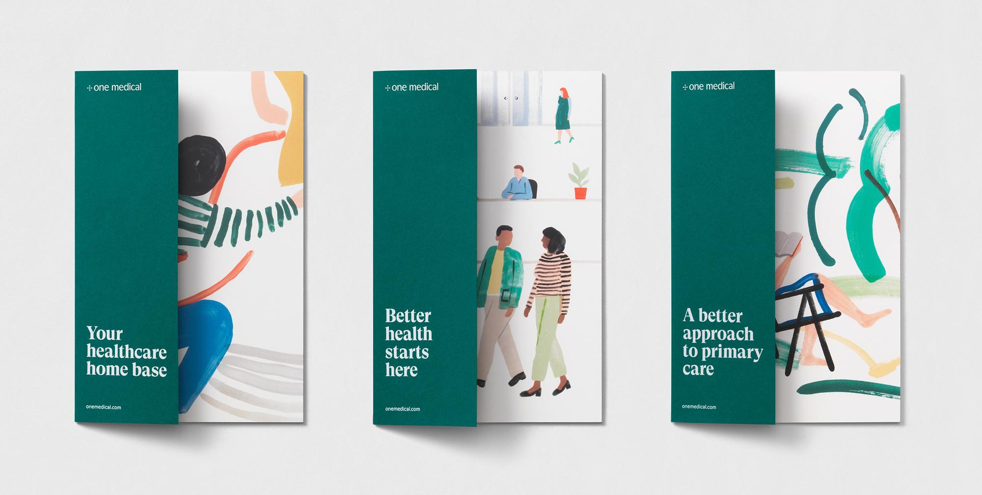 Brochure designs for One Medical