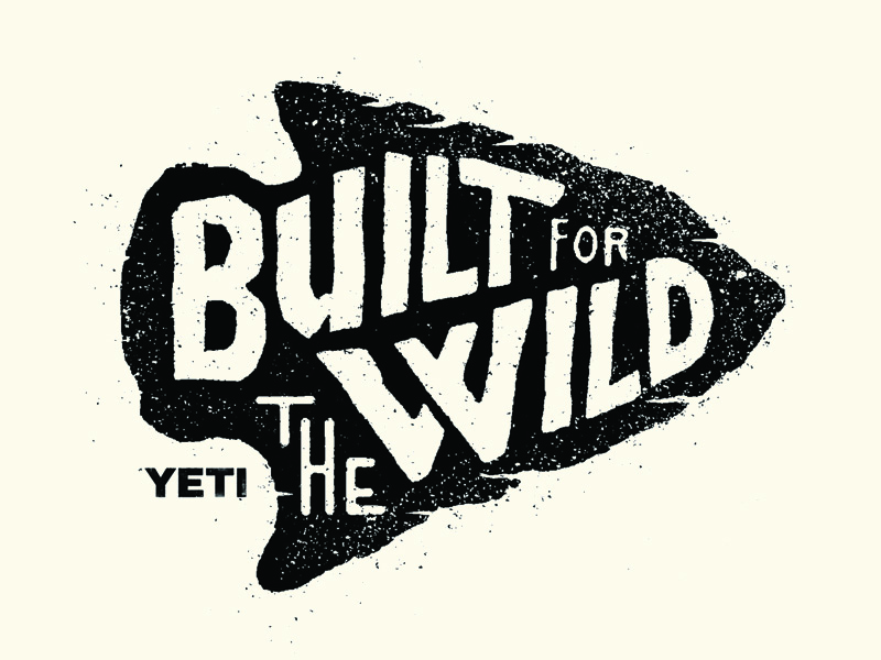 Badge design for Yeti