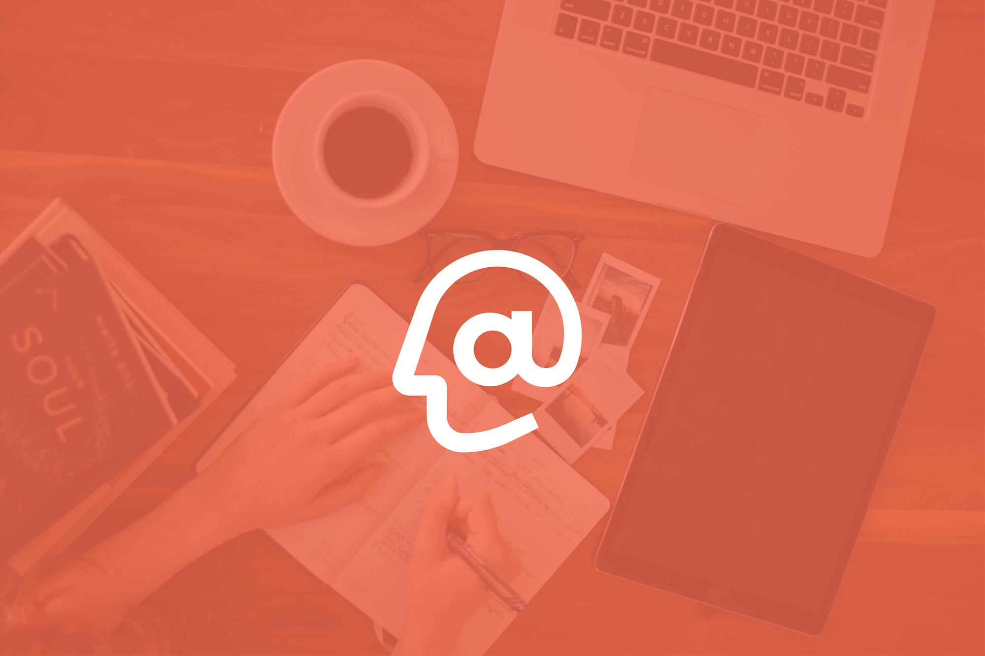 Acumen Logo on top of an Orange Overlay