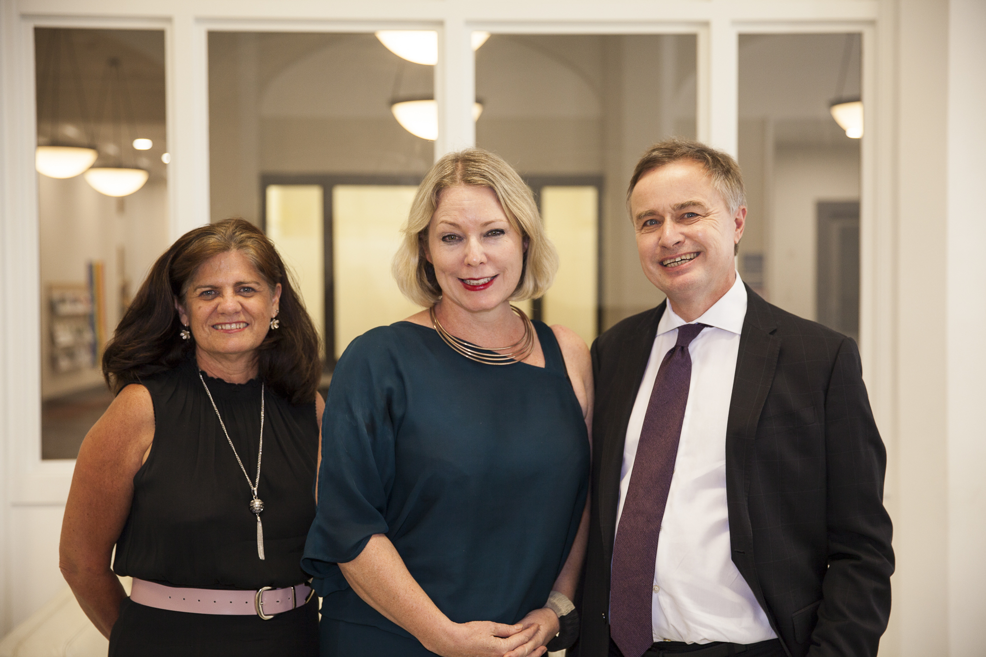 New Be. Lab CEO Sue Russell with Be. Lab founder, Minnie Baragwanath and Board Chairman, John Allen