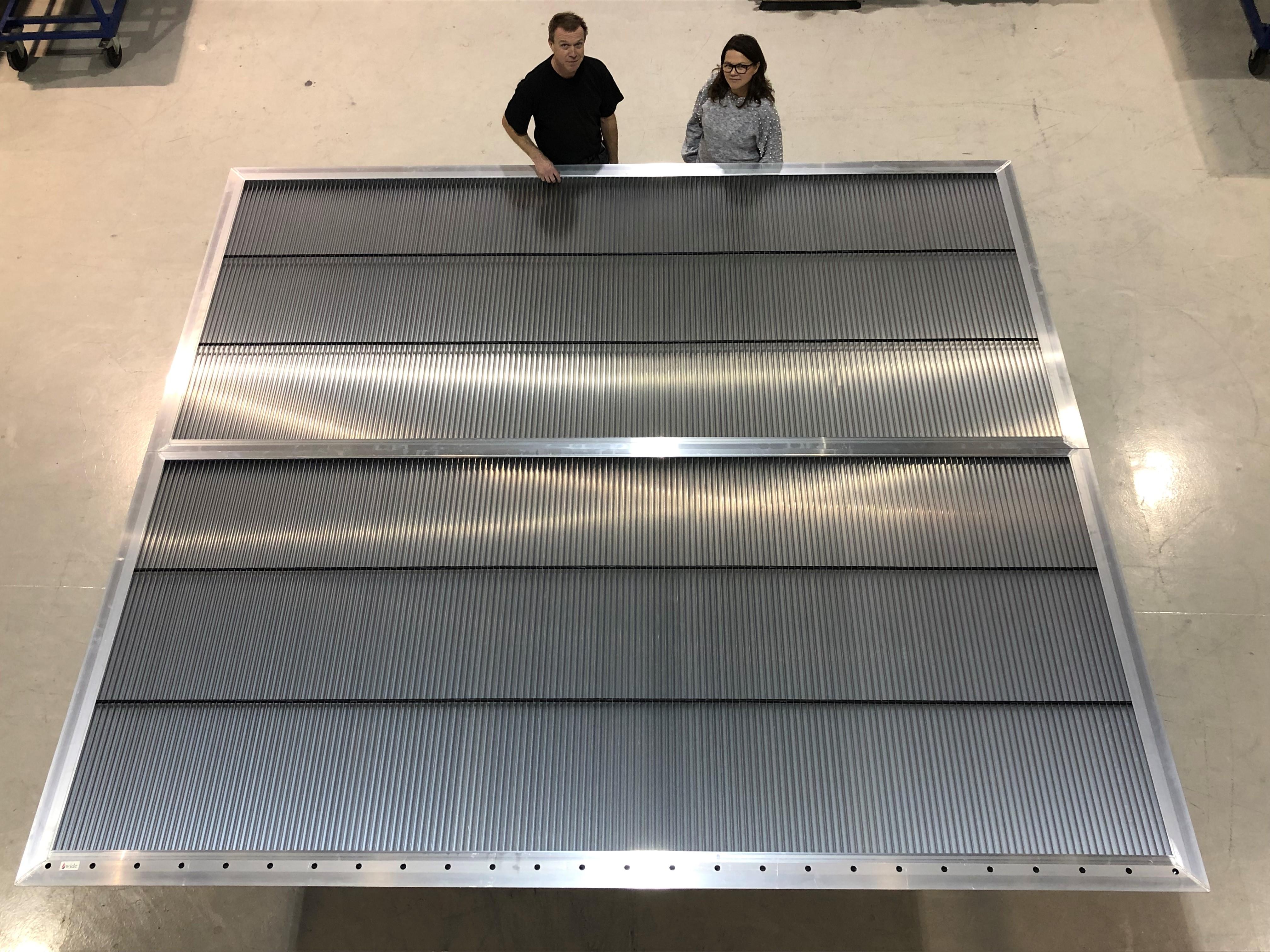Ventilasjonsrist med ATEX varmekabel for 245.000 m2/h levert til Equinor.