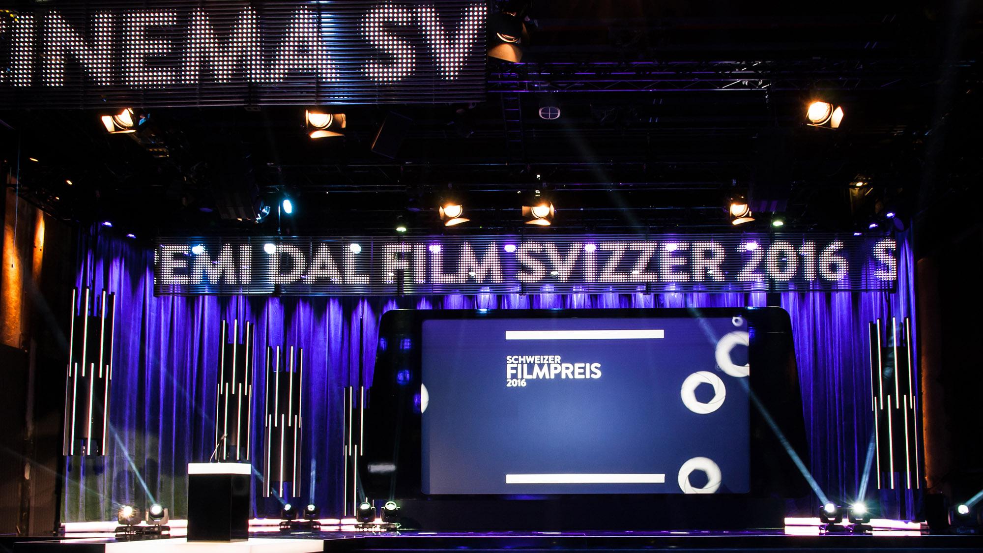 Schweizer Filmpreis, Award-Show ...