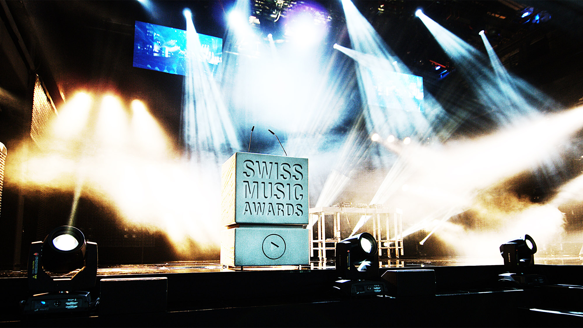 Swiss Music Award, Bühnendesign ...