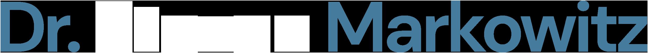 Dr. Markowitz Logo white
