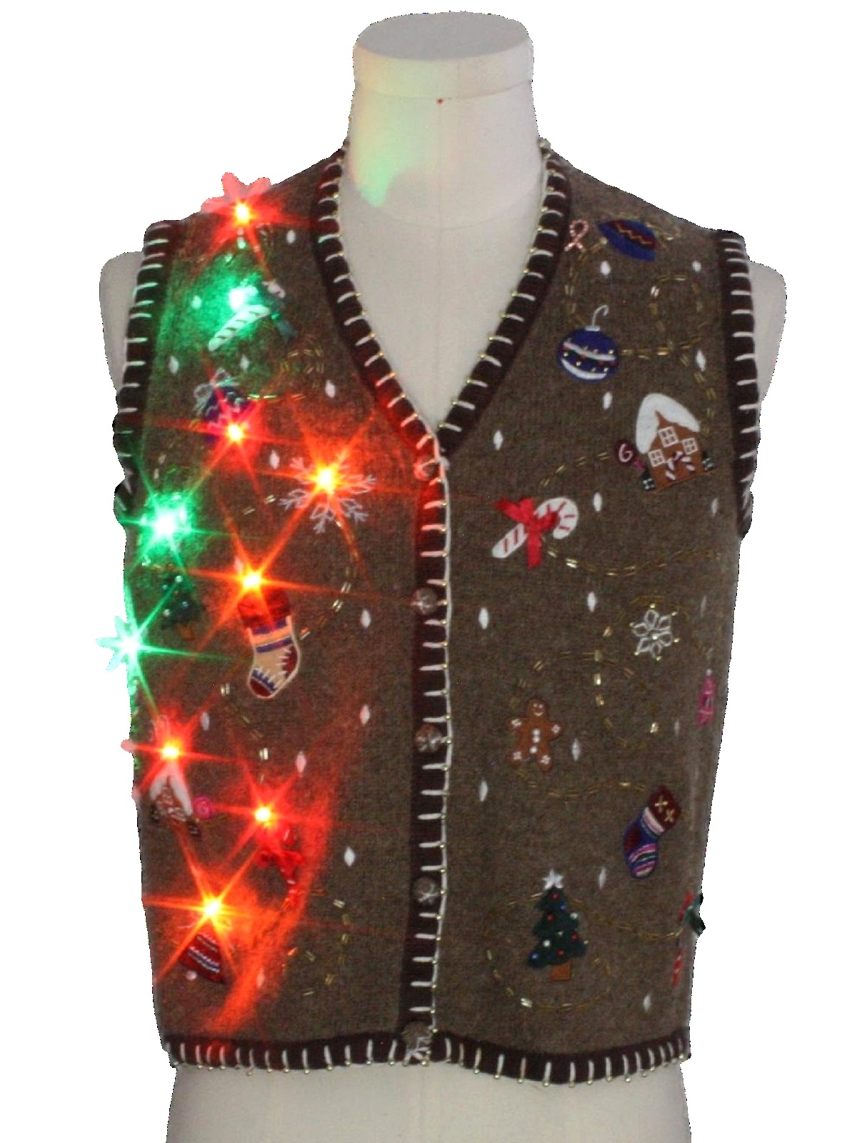 Rusty Zipper's holiday vest
