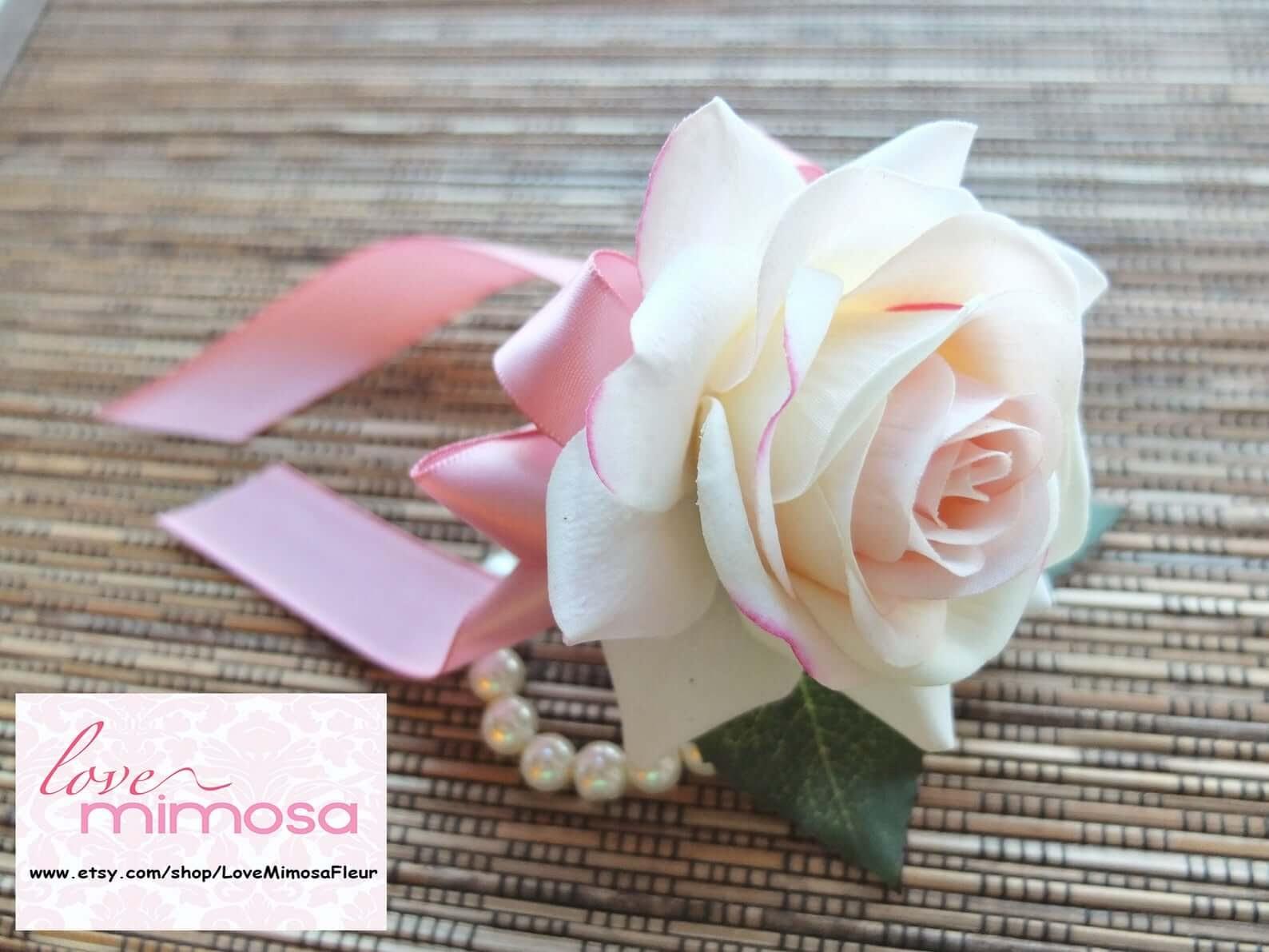 Flower Girl Wrist Corsage