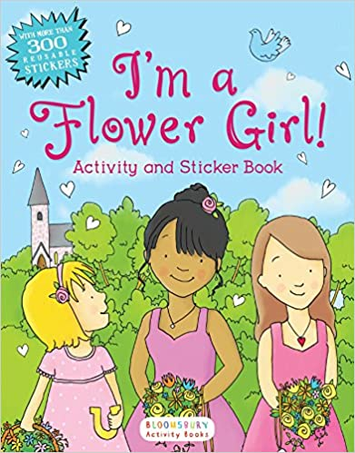 Flower Girl Activity Book