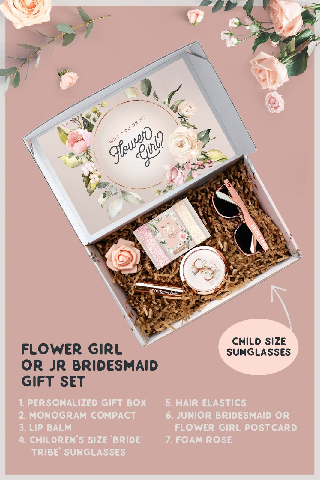 Flower Girl Proposal Box