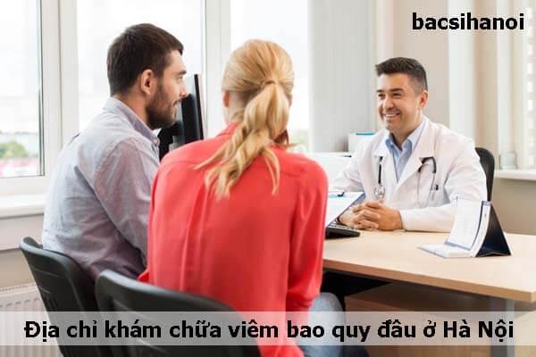 Địa chỉ khám chữa viêm bao quy đầu uy tín ở Hà Nội