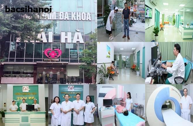 Phòng khám đa khoa Thái Hà địa chỉ khám uy tín ở Hà Nội