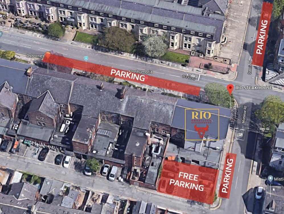 Image showing parking areas for Rio Steakhouse.