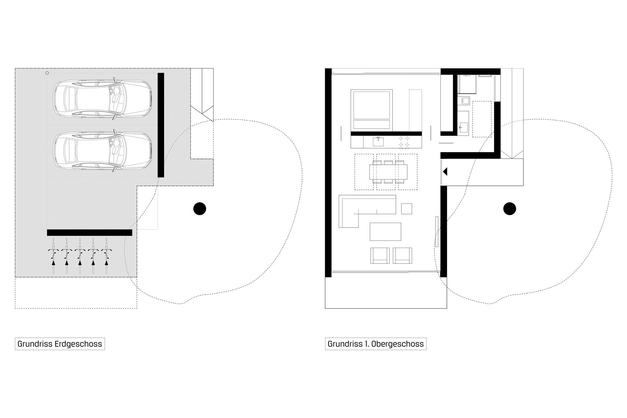 Sarger Architekten: Neuerrichtung eines Ateliers / Studios in München, Pasing