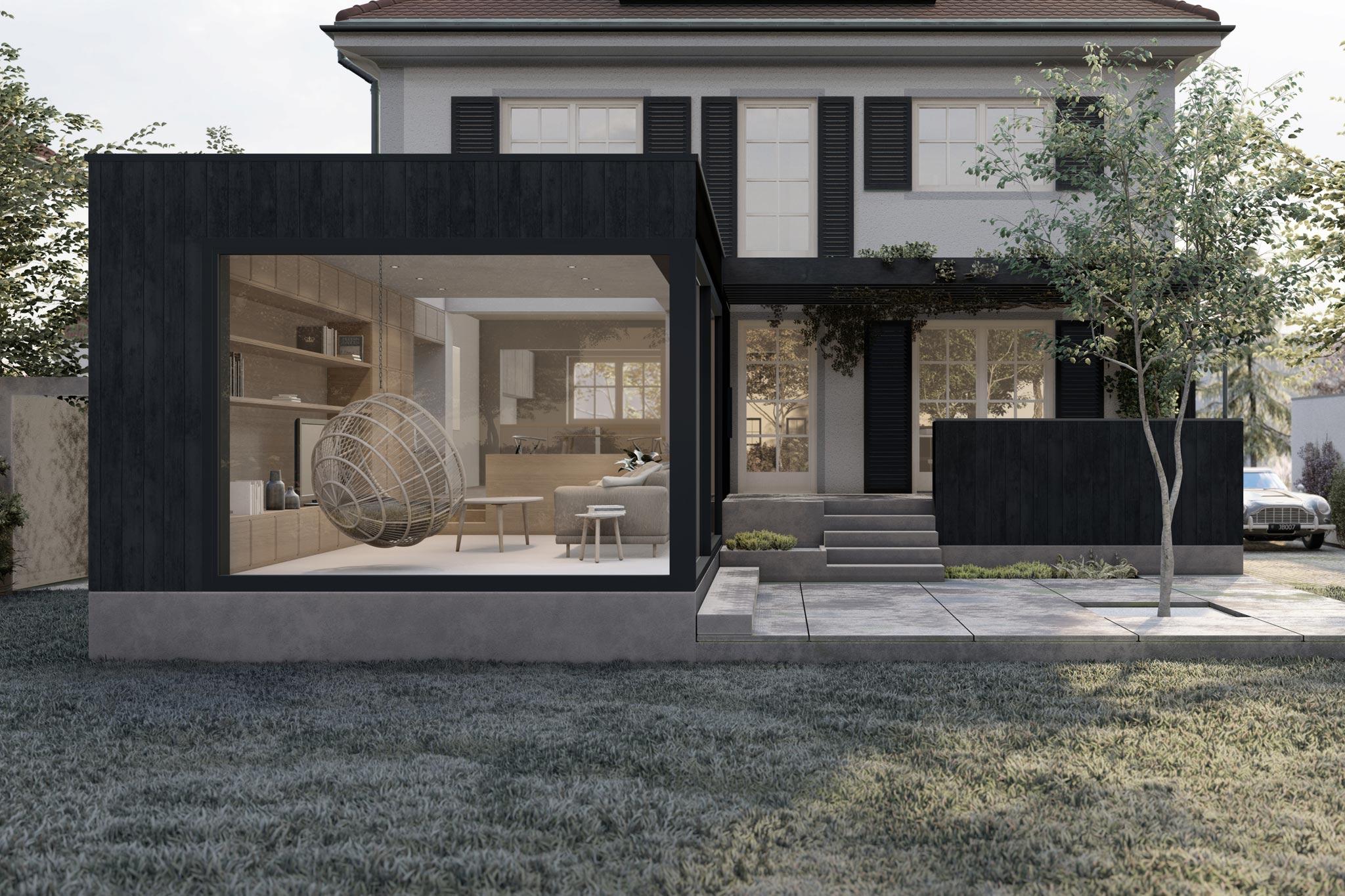Sarger Architekten: Abbruch und Neubau eines Wohn- und Geschäftsgebäudes in Taufkirchen