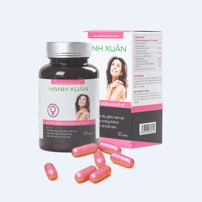 Hạnh Xuân - Viên uống bổ sung nội tiết tố Estrogen hiệu quả cho phụ nữ