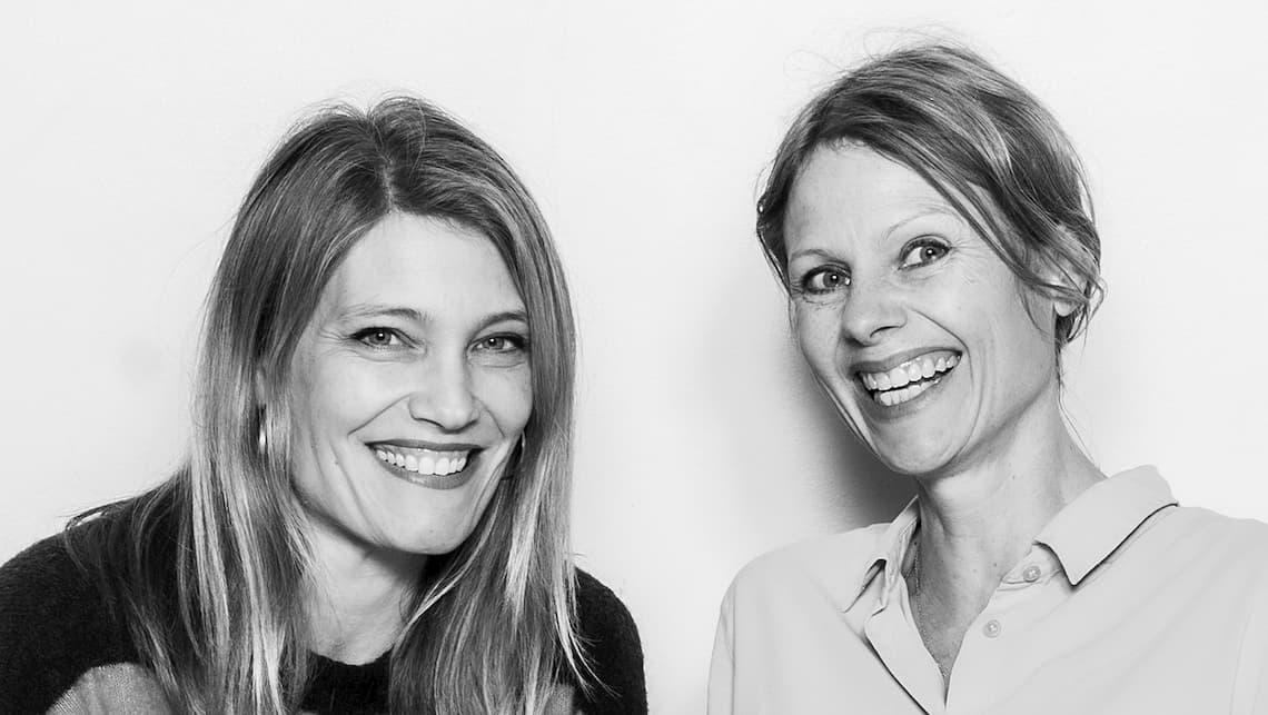 Velfærdsprofetens værter Lotte Andersen og Maja Haack.