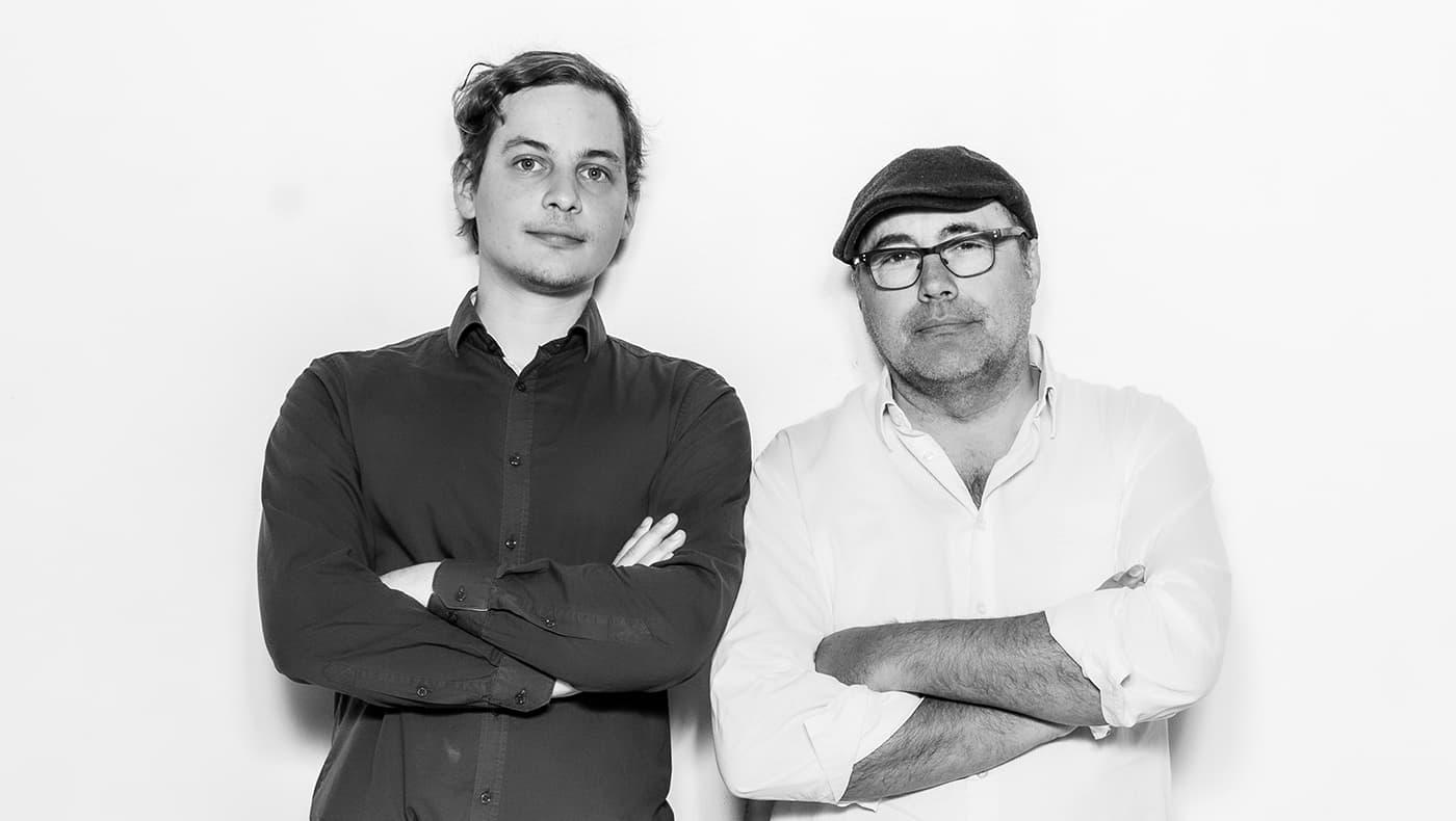 Henrik Tarp Vang og Christian Oelsner.