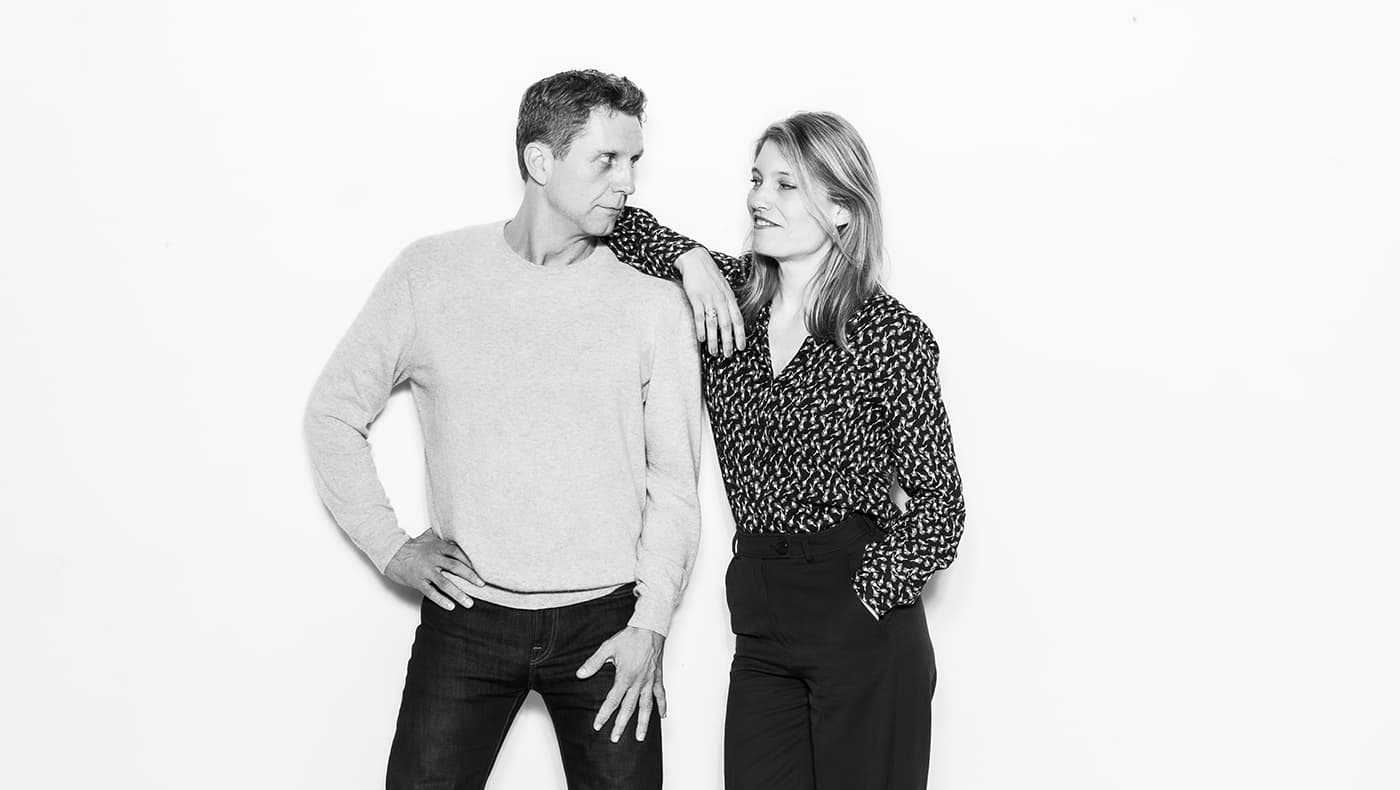 Søren Lybecker og Maja Haack.