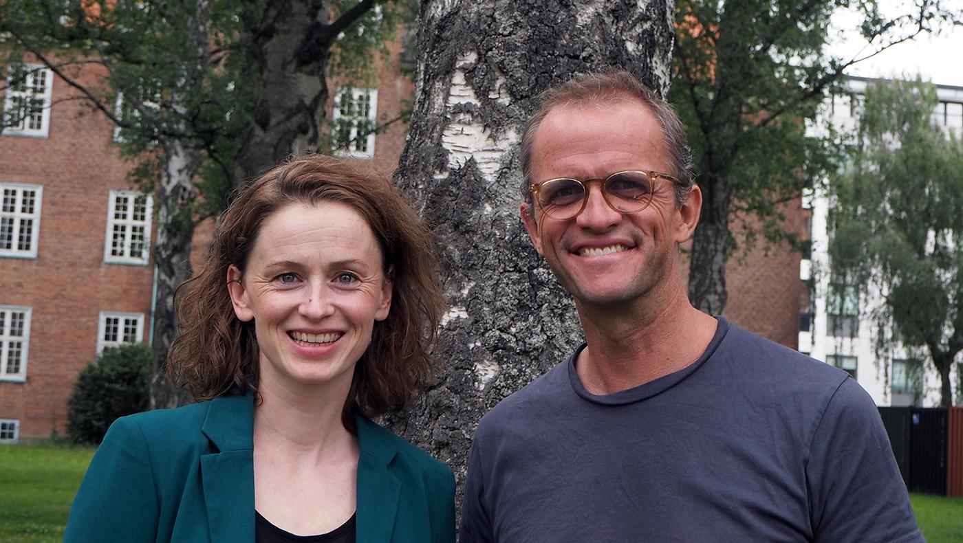 Sarah Grams Davy og Søren Hornskov.
