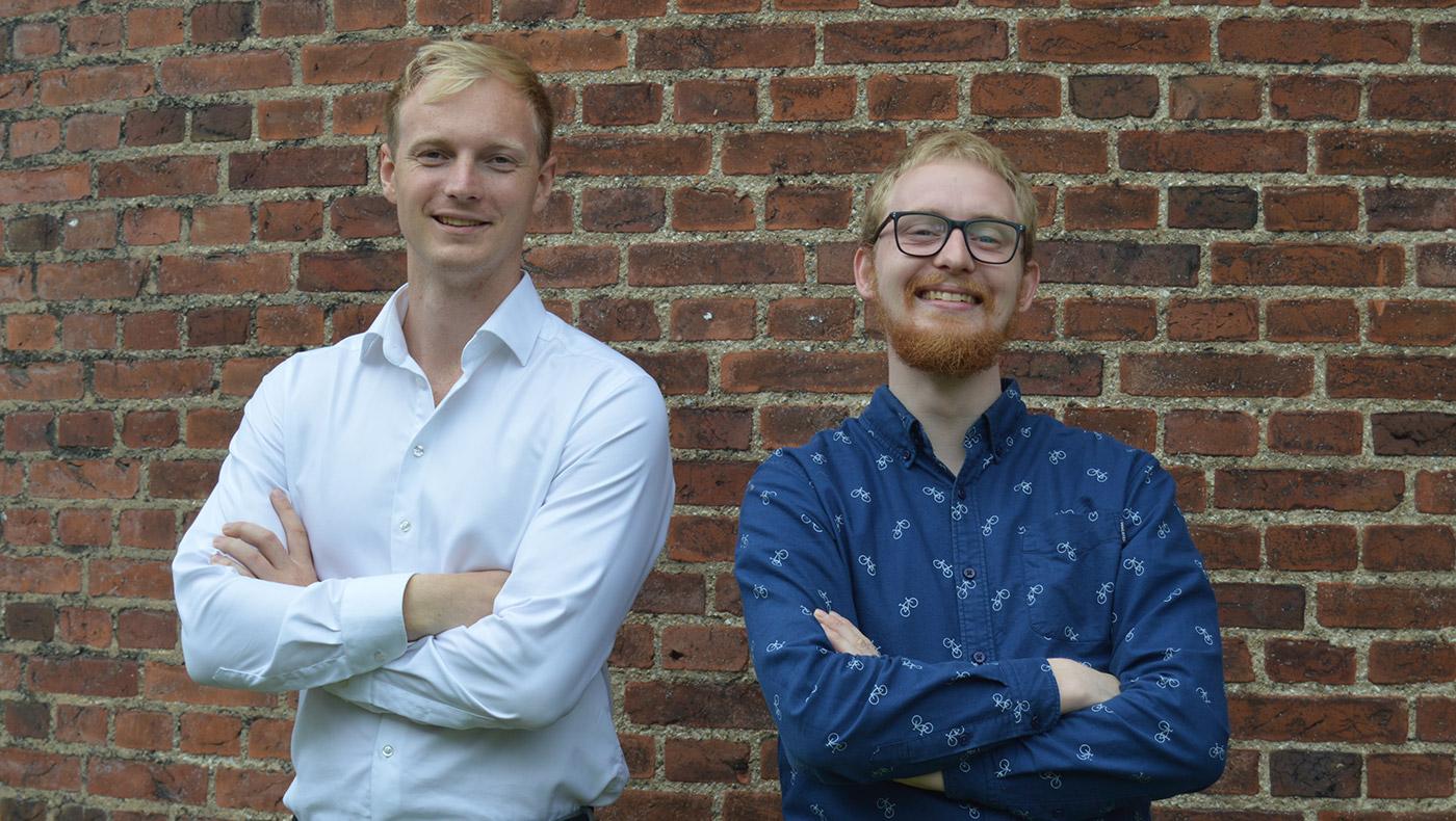 Christoffer Konstantin Ravn og Christian Yde Præstholm.