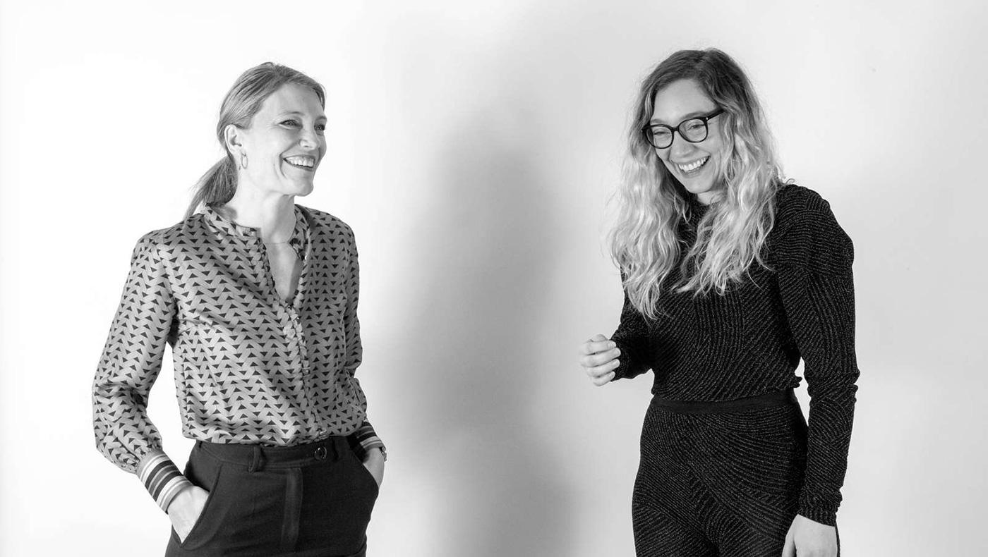 KP Stereos værter Maja Haack og Ditte Mundeling Samuelsen.