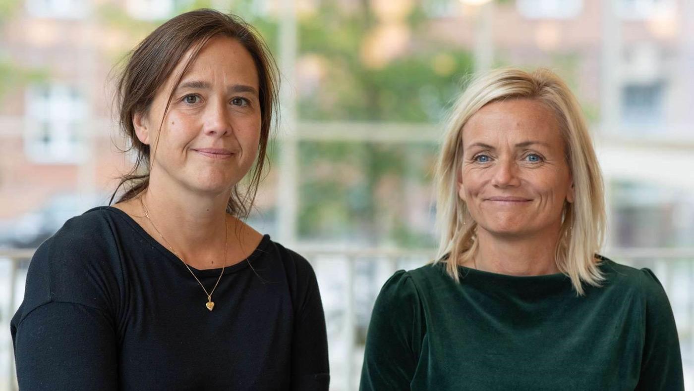 Sine Penthin Grumløse og Anja Marschall